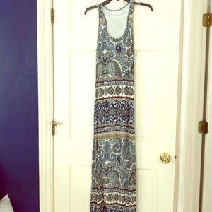 NWT Velvet tribal maxi dress